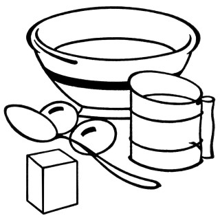 Free Vintage Clipart ~ Baking Equipment