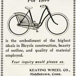 Free Vintage Image ~ Keating Bicycle Advertisement