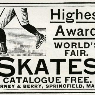 Barney & Berry Skates Magazine Ad