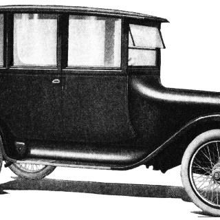 1918 Car ~ Free Vintage Clip Art