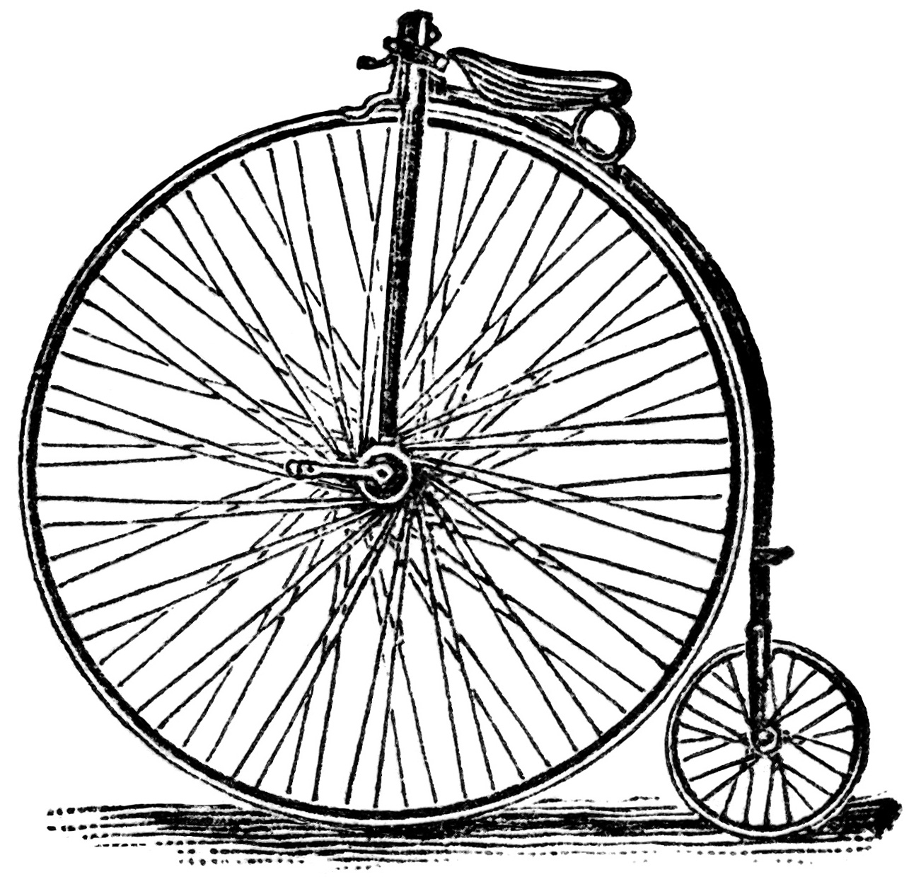 Victor Bicycles Free Vintage Clip Art