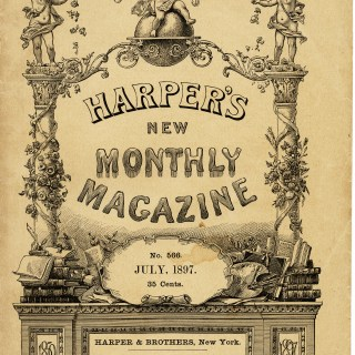 Harper's New Monthly Magazine Cover