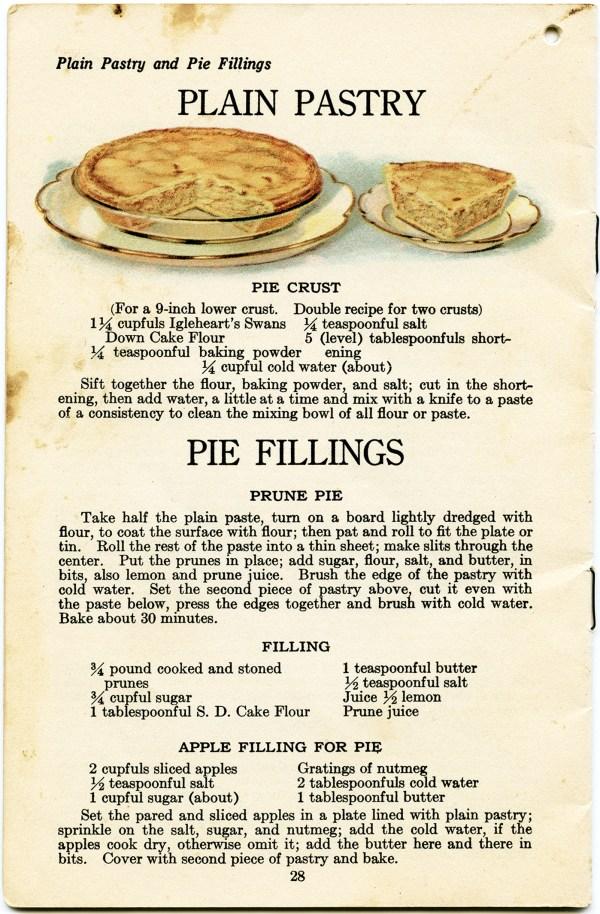 free vintage apple pie