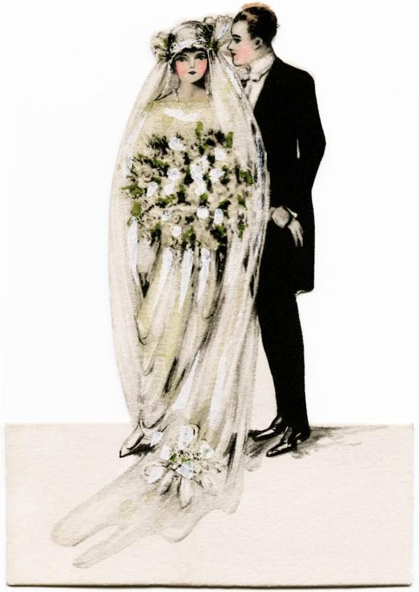 Victorian Bride And Groom - Design