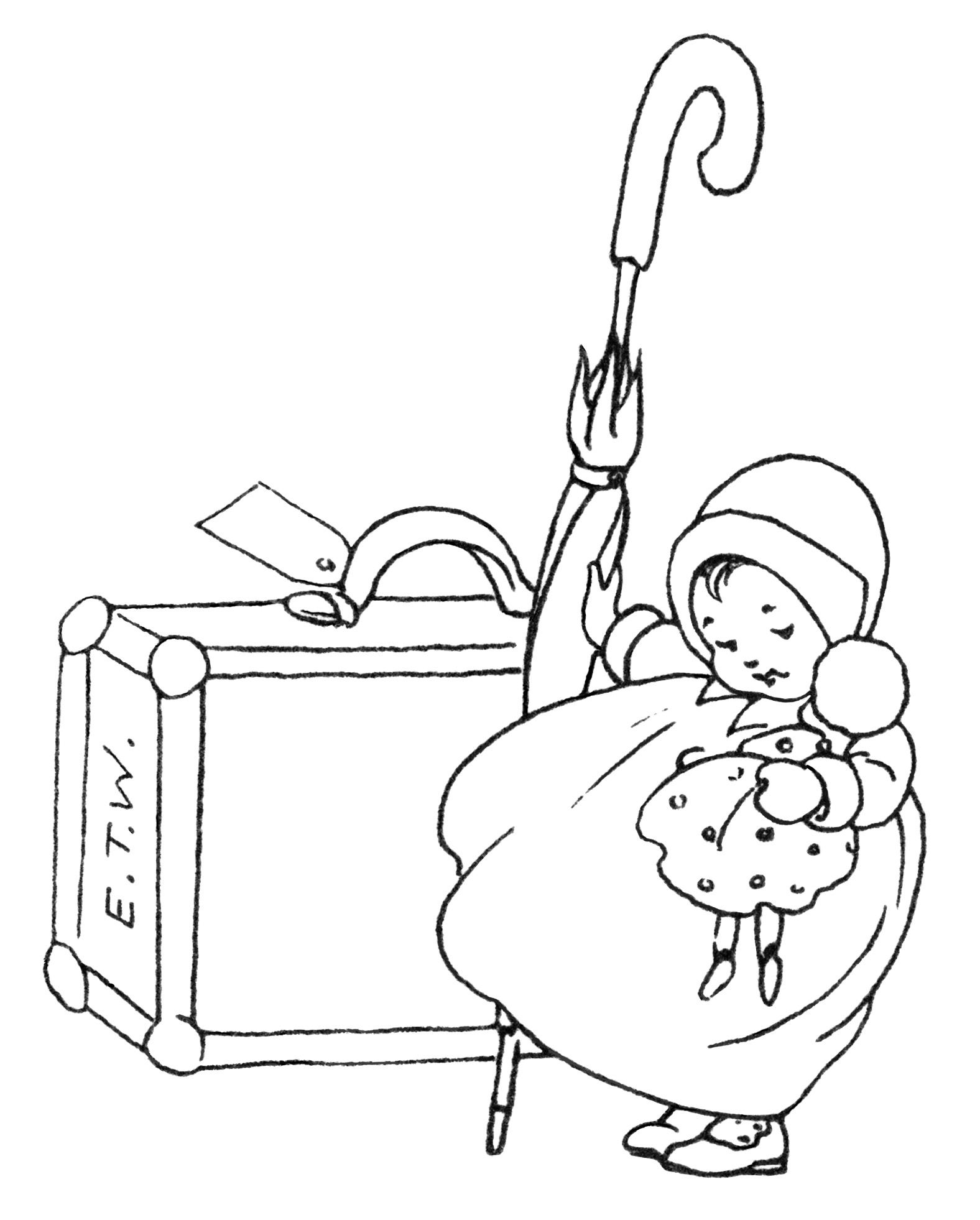 Vintage Baby Clip Art A Little Journey