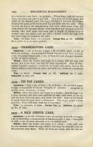 Thanksgiving cake, old cookbook page, free vintage ephemera, mrs beeton cake recipe, vintage kitchen clipart