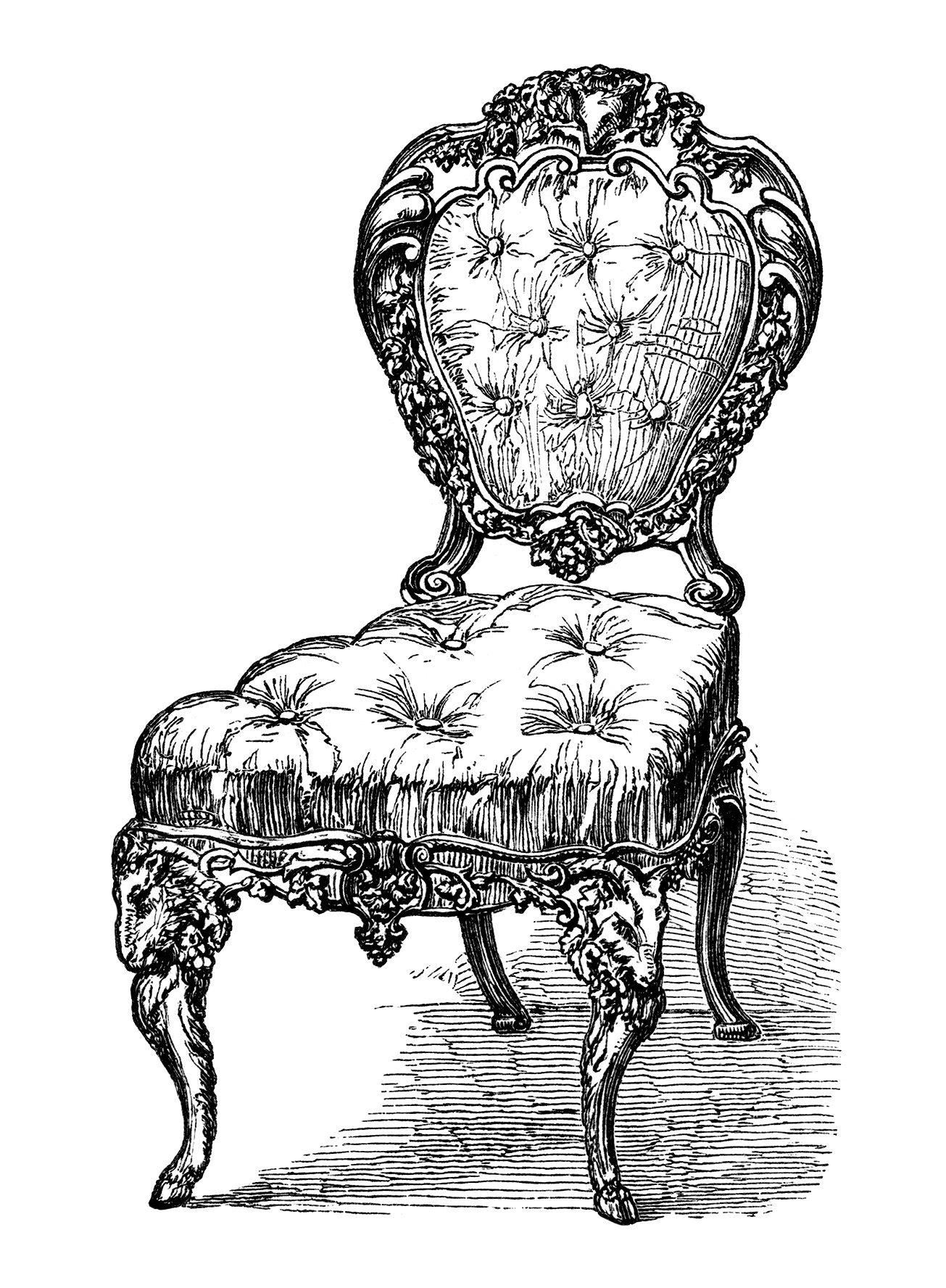 chair design antique dental brands in india chairs free clip art engravings old