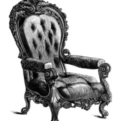 Chair Design Antique Parson Chairs With Arms Free Clip Art Engravings Old