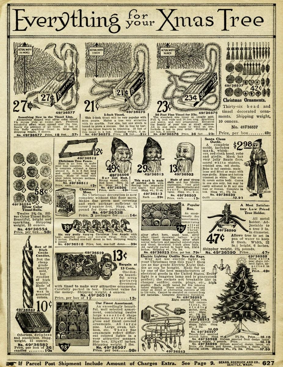 Vintage Christmas Decorating Free Printable Catalogue
