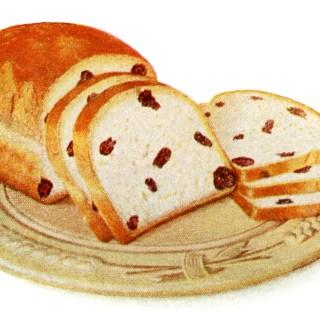 Homemade Loaf of Raisin Bread
