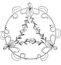 vintage embroidery design free black and white clip art antique swirly sketch  [ 1416 x 1338 Pixel ]