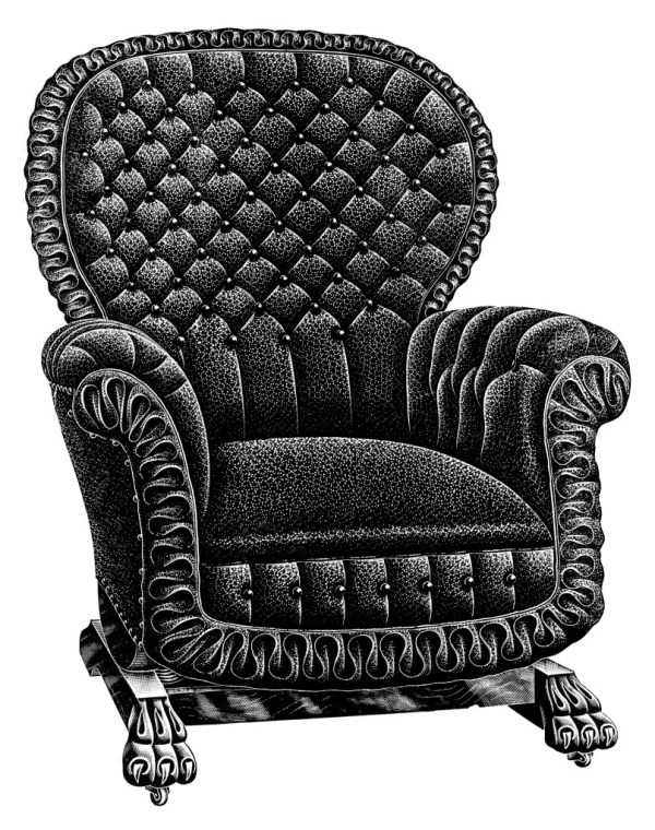 Vintage Chair Catalogue Listing And Clip Art Free