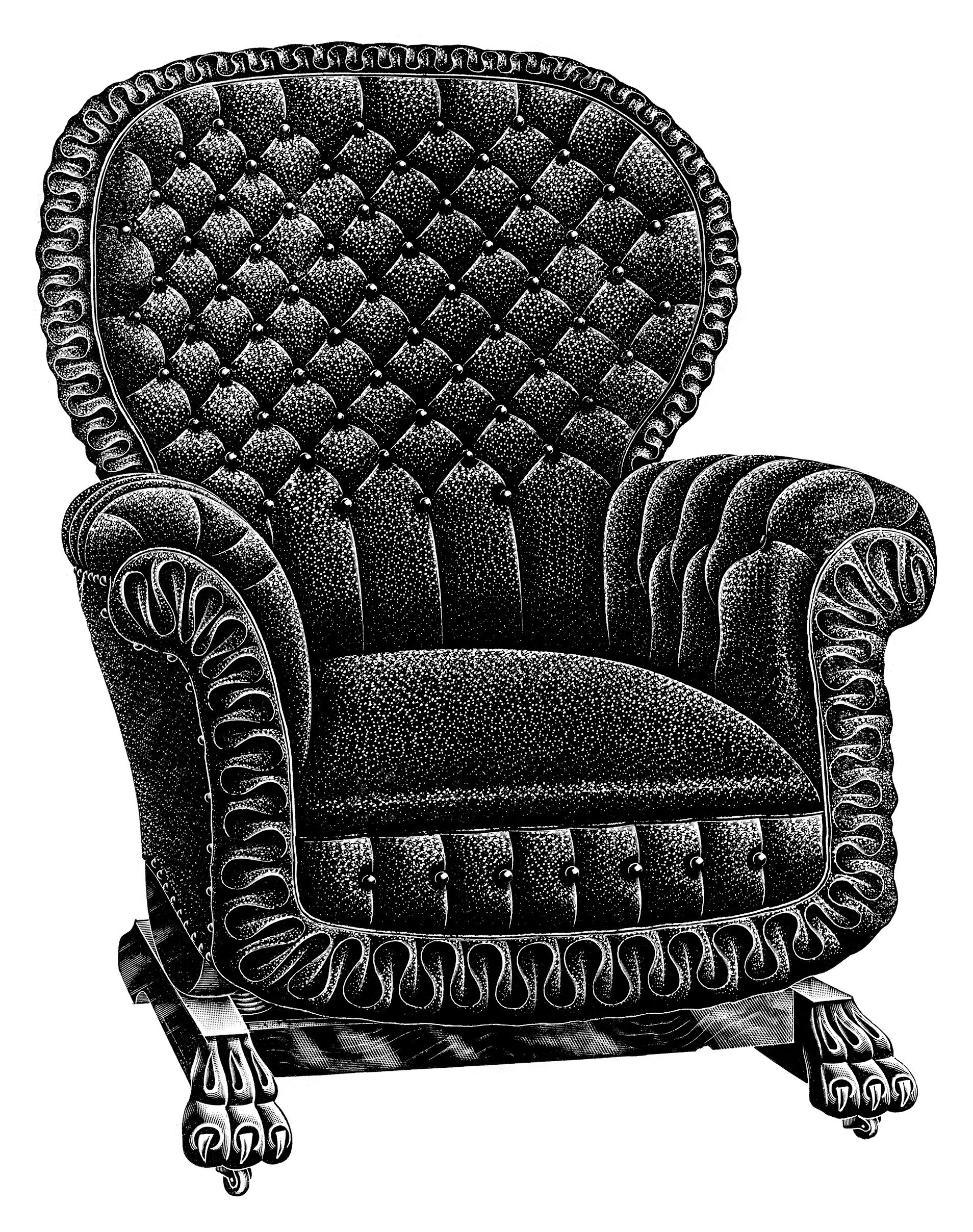 Vintage Chair Catalogue Listing and Clip Art ~ Free ...