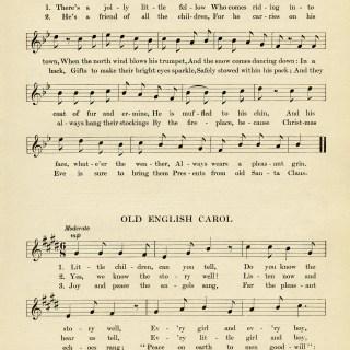 Vintage Christmas Sheet Music ~ Free Download
