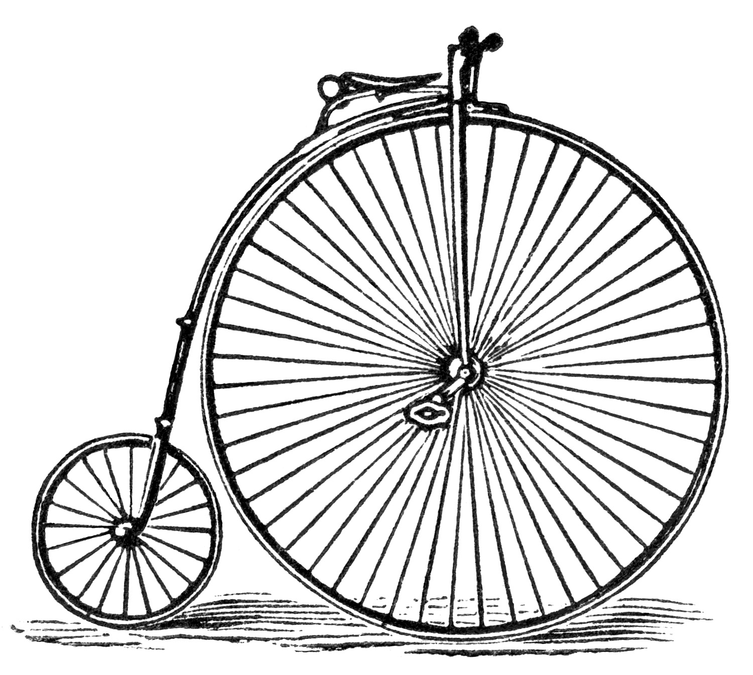 Columbia Bicycle Magazine Advertisement And Clip Art