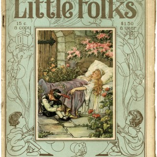 Little Folks March 1920 Front Cover
