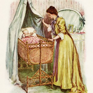 Victorian Mother and Baby