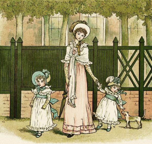 Grandmamma Kate Greenaway - Design