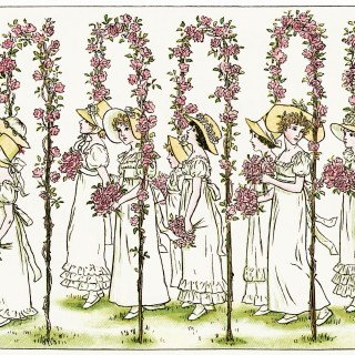 Under Rose Arches by Kate Greenaway