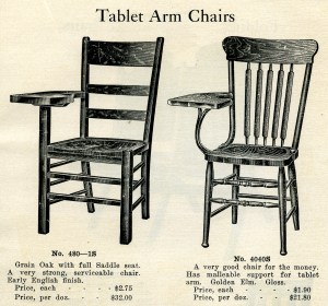 vintage school clipart, wooden tablet arm chair, black and white graphics free, digital stamp school, old fashioned chair illustration