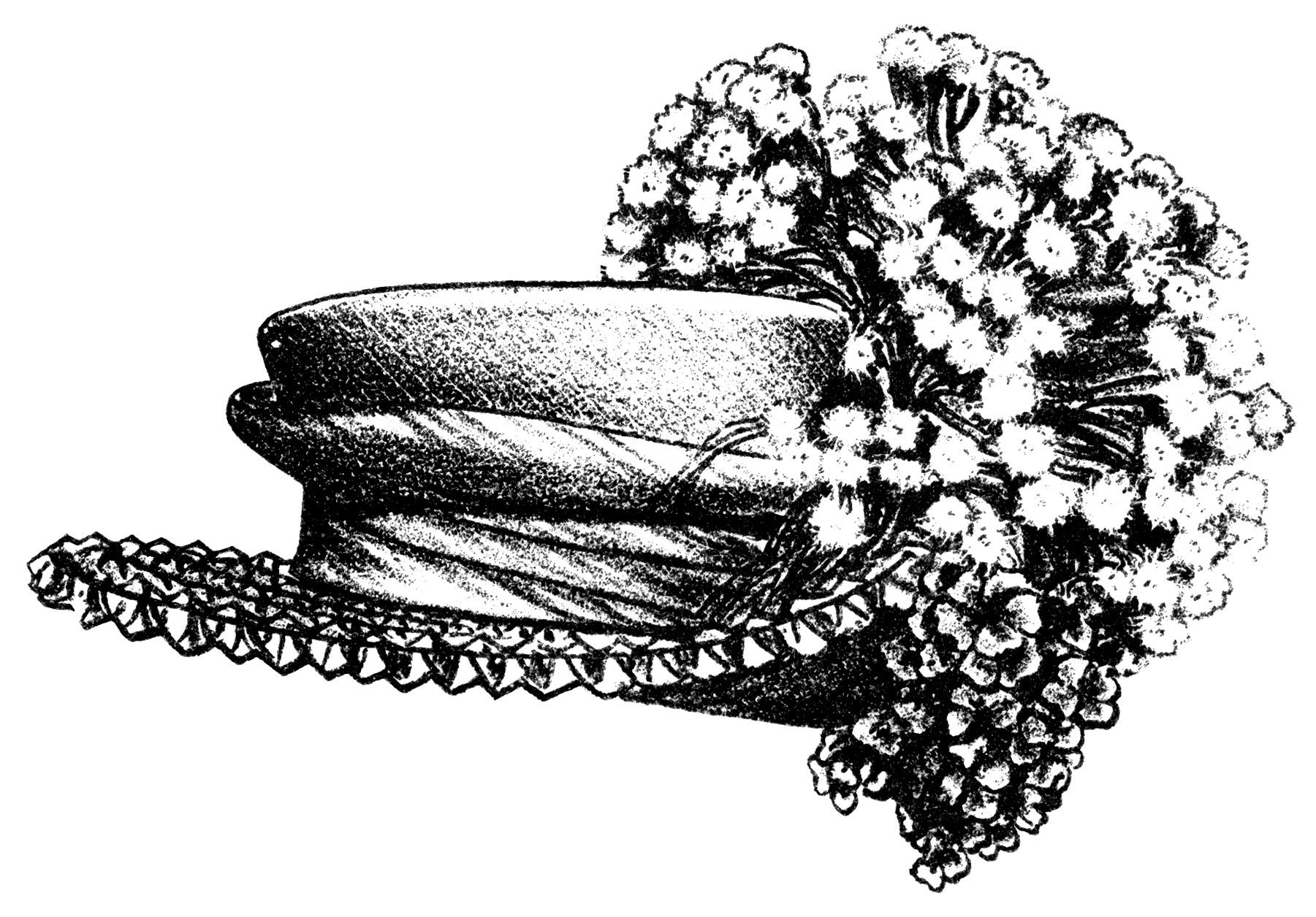 Victorian La S Hats Free Clip Art