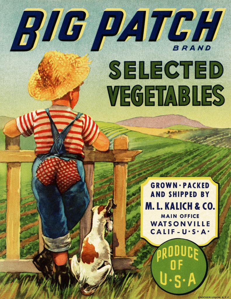 Vintage Vegetable Crate Label Free Image Old Design
