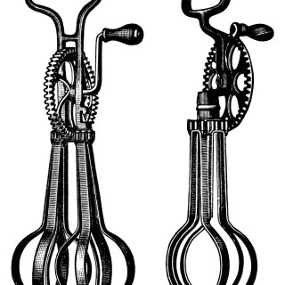 Taplin Egg Beaters ~ Free Vintage Clip Art