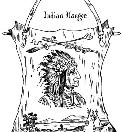 indian chief clip art vintage native american illustration black and white clipart warrior [ 1896 x 2962 Pixel ]