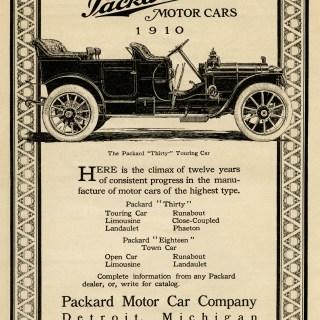 Packard Touring Car ~ Free Clip Art