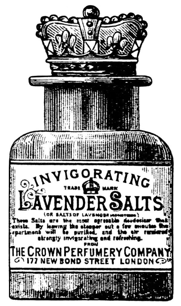 lavender salts clip art - design