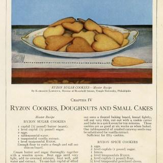 Cookies ~ Free Vintage Cookbook Pages