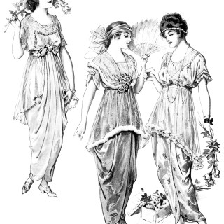 Young Ladies' Fashion 1914