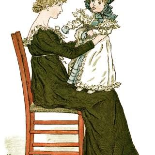 To Baby ~ Free Vintage Storybook Image