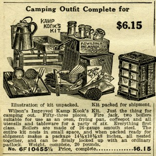 Camping Outfit ~ Free Clip Art