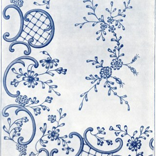 Victorian Embroidery Design