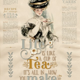 Life is Like a Cup of Tea by Anja