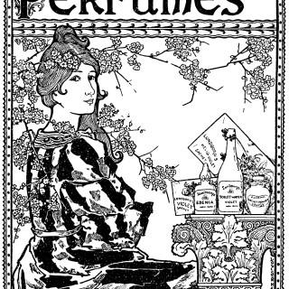 Lundborg's Perfume Advertisement