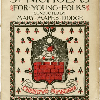 St. Nicholas Christmas 1897 Cover Page