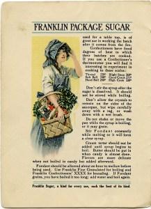 vintage recipe, franklin sugar, old recipe page, shabby recipe, junk journal printable, vintage kitchen clip art