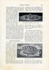 antique recipes, junk journal printable, vintage lunch recipe, old cookbook page