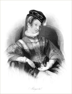 free printable Victorian lady seated in chair black and white engraving