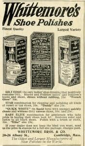 free printable vintage magazine advertisement for shoe polish