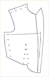 free vintage clip art sewing pattern bodice