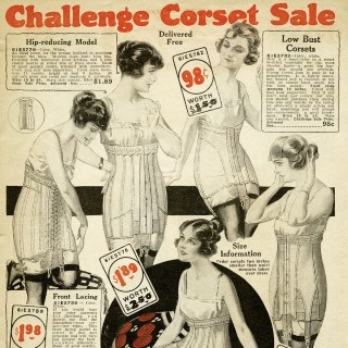 Free Vintage Printable Corsets Catalog Page