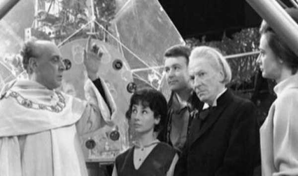 "The Fourth Doctor uncovers nefarious Egyptian goings on,in ""The Pryamids Of Mars"" - 1976."