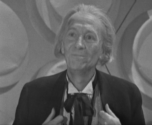 """One day! I shall come back....."", the First Doctor reminisces, in ""The Dalek Invasion Of Earth"" - 1965."