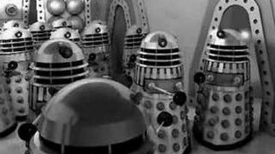 "The newly regenerated Second Doctor discovers a colony of soon not-to-be deactivated Daleks, in ""The Power Of The Daleks"" - 1966."
