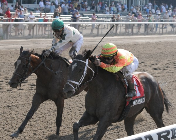 Gr.1 STAKES WINNER HER SMILE (NYRA Photo)