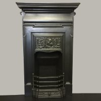 bedroom cast iron fireplace | www.indiepedia.org