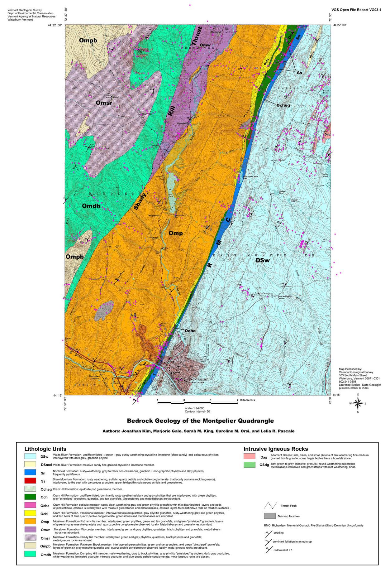 Free Online Geology Curriculum